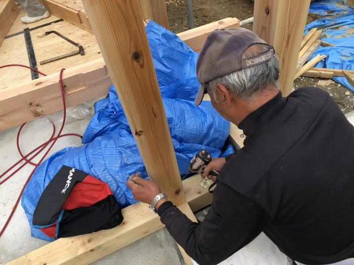 上棟しました。本宮市白岩 郡山市 新築住宅 大原工務店のブログ