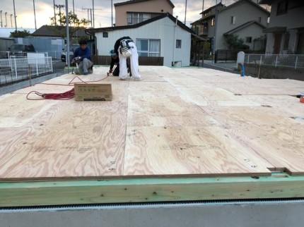 剛床工法です。|郡山市 新築住宅 大原工務店のブログ