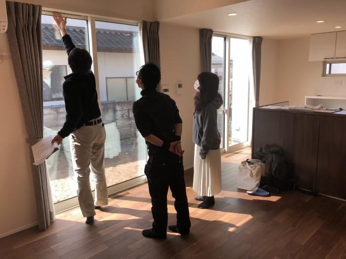 工務からも使い方の説明を行います。  郡山市 新築住宅 大原工務店のブログ