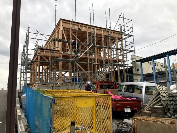 上棟しました 郡山市富久山町 |郡山市 新築住宅 大原工務店のブログ