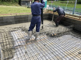 二本松市の新築工事で基礎工事|郡山市 新築住宅 大原工務店のブログ