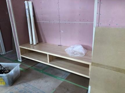 カッコイイ 造作テレビボード|郡山市 新築住宅 大原工務店のブログ