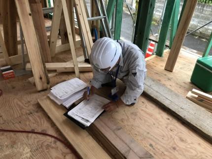 郡山市開成で上棟検査を受けました | 郡山市 新築住宅 大原工務店のブログ