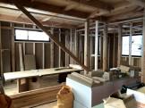 こちらに断熱材を施工していきます。郡山市安積町M様邸| 郡山市 新築住宅 大原工務店のブログ