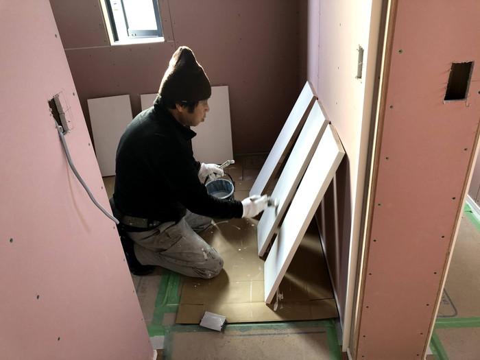 塗装工事です。|郡山市 新築住宅 大原工務店のブログ
