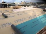 ヤネシタボードを施工しています 郡山市昭和 |郡山市 新築住宅 大原工務店のブログ