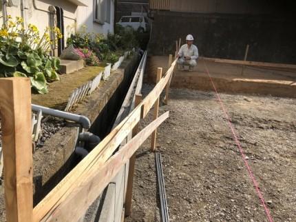 丁張 総スパンチェック|郡山市 新築住宅 大原工務店のブログ