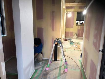 新築 クロス仕上げです。|郡山市 新築住宅 大原工務店のブログ