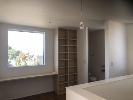 2階フリースぺースです。|郡山市 新築住宅 大原工務店のブログ