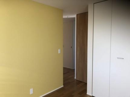 2階のアクセントクロスもステキです。|郡山市 新築住宅 大原工務店のブログ