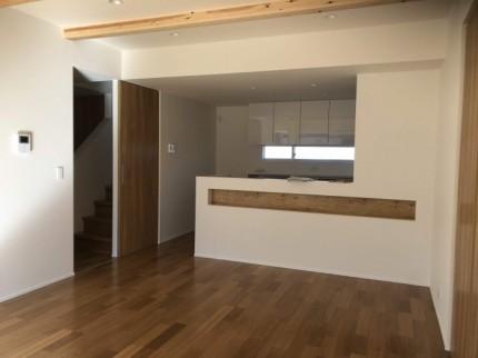 リビングのニッチが素敵です。|郡山市 新築住宅 大原工務店のブログ