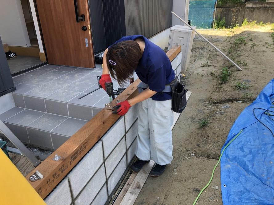 土台にあける穴の位置に気をつけよ|郡山市 新築住宅 大原工務店のブログ