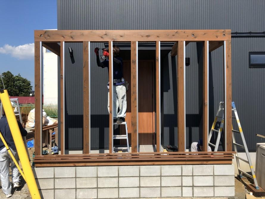 柱が傾かないように気をつけよ|郡山市 新築住宅 大原工務店のブログ