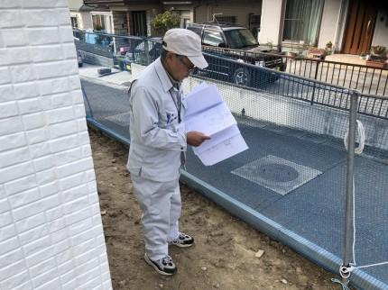 完了検査の外回りの検査です 郡山市桜ケ丘 |郡山市 新築住宅 大原工務店のブログ