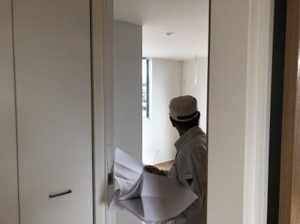 完了検査の中での検査です 郡山市桜ケ丘 |郡山市 新築住宅 大原工務店のブログ