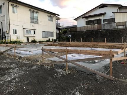 べた基礎工事です。|郡山市 新築住宅 大原工務店のブログ