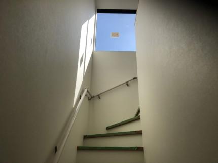 階段コーナです。本宮市葭ヶ入| 郡山市 新築住宅 大原工務店のブログ