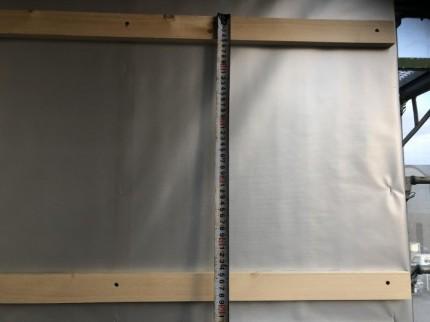 胴縁の間隔を測ってみました。郡山市昭和| 郡山市 新築住宅 大原工務店のブログ