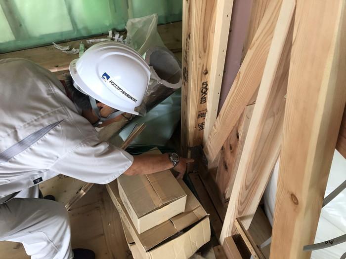 新築の上棟検査です。|郡山市 新築住宅 大原工務店のブログ