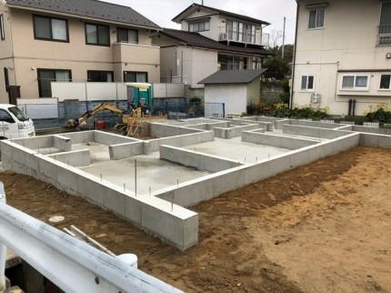 新築のべた基礎完成です。 郡山市 新築住宅 大原工務店のブログ