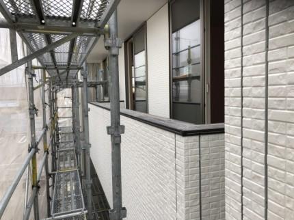 モザイクストーンのクリアホワイト使ってます。郡山市開成| 郡山市 新築住宅 大原工務店のブログ