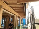 引き抜き金物のチェックです。|郡山市 新築住宅 大原工務店のブログ