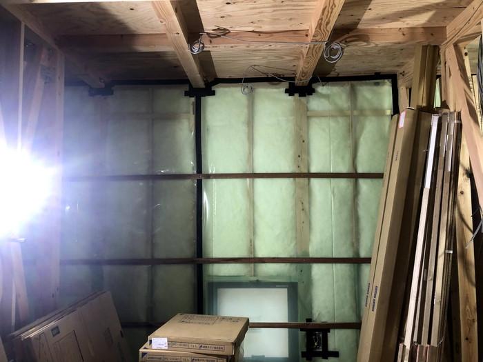 高気密住宅の気密処理です。|郡山市 新築住宅 大原工務店のブログ