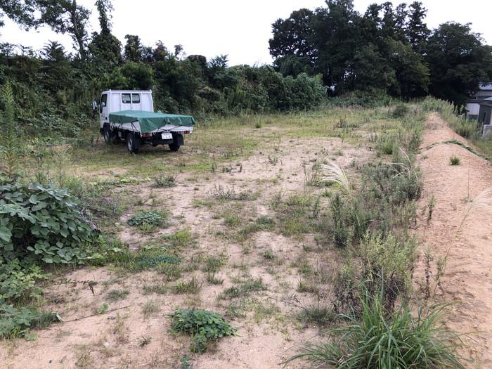 草刈り前です。|郡山市 新築住宅 大原工務店のブログ