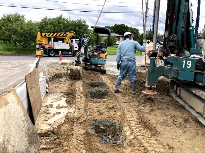 地盤改良工事を行いました K様邸 郡山市荒井 郡山市 新築住宅 大原工務店のブログ