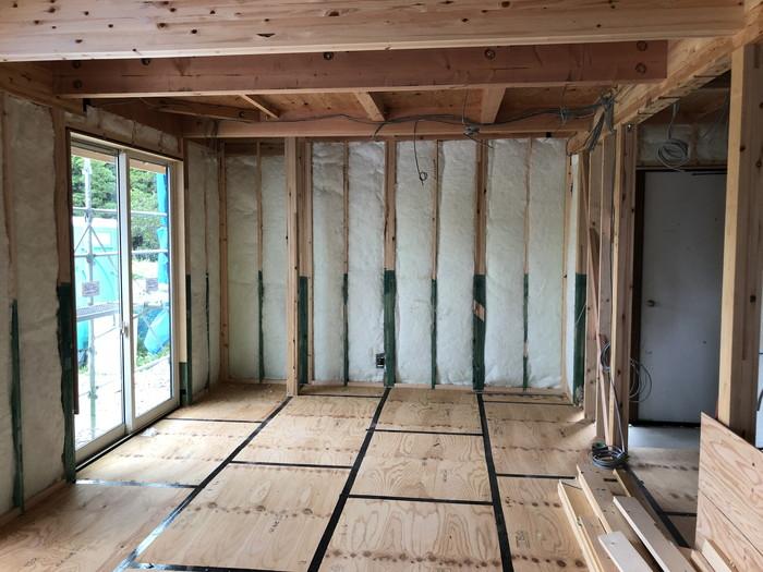 断熱材の重点です。郡山市 新築住宅 大原工務店のブログ