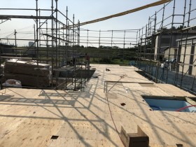 土台入れ完了です。|郡山市 新築住宅 大原工務店のブログ