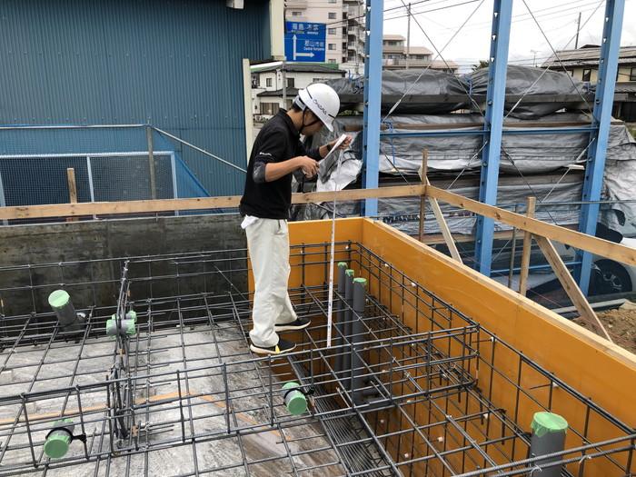 排水管のチェックです。|郡山市 新築住宅 大原工務店のブログ