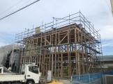 先日上棟したT様邸です。郡山市富田町T様邸| 郡山市 新築住宅 大原工務店のブログ