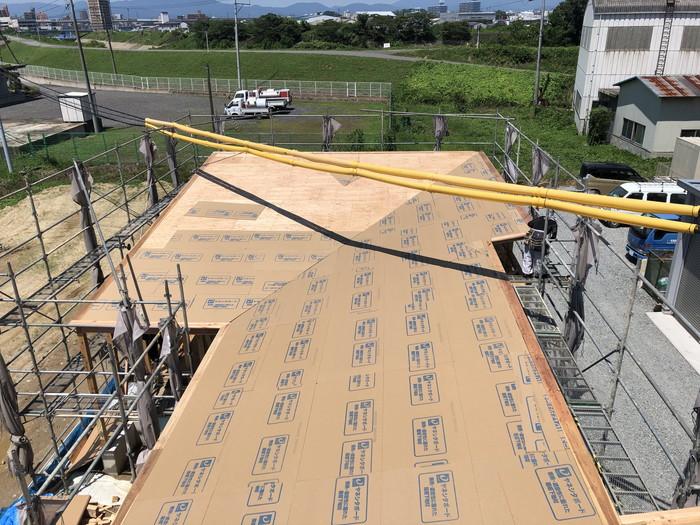屋根下ボードです。|郡山市 新築住宅 大原工務店のブログ