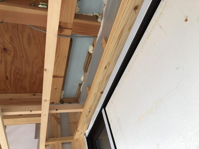 2階の床部分の断熱材です。郡山市 新築住宅 大原工務店のブログ