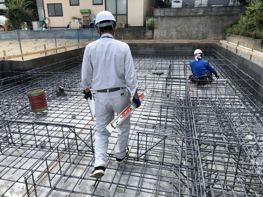 郡山市菜根の新築住宅基礎工事にいざ参る|郡山市 新築住宅 大原工務店のブログ