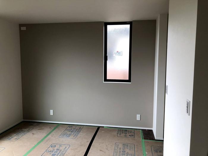 クロス工事の完了です。 郡山市 新築住宅 大原工務店のブログ