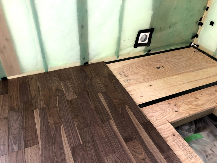 オシャレなフローリングを施工しております。本宮市高木| 郡山市 新築住宅 大原工務店のブログ