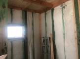断熱材が充填されました。郡山市富田町T様邸| 郡山市 新築住宅 大原工務店のブログ