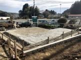 丁張りの様子です。二本松市 Y様邸| 郡山市 新築住宅 大原工務店のブログ