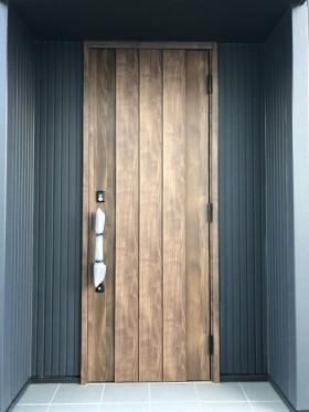 ライフボックスの玄関口です。郡山市安積町| 郡山市 新築住宅 大原工務店のブログ