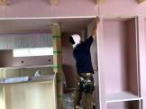 クロスの下地処理です。|郡山市 新築住宅 大原工務店のブログ