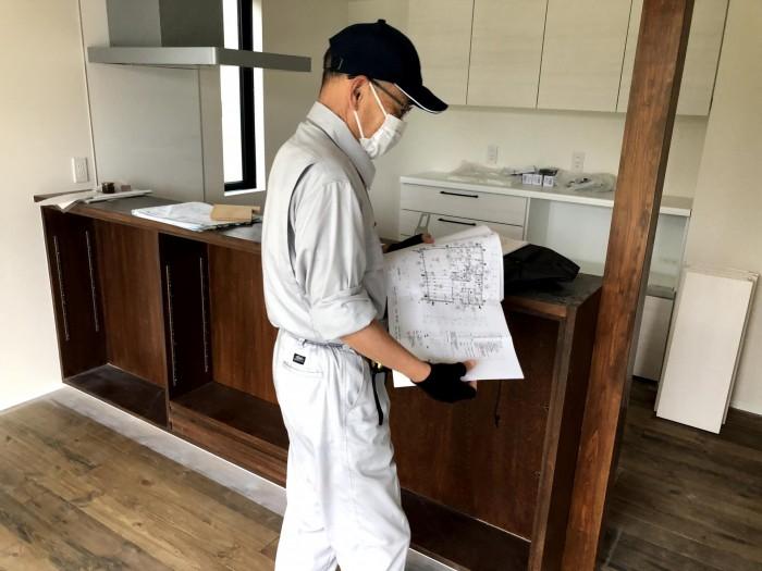 住宅センターさんによる完了検査です 郡山市片平町 |郡山市 新築住宅 大原工務店のブログ