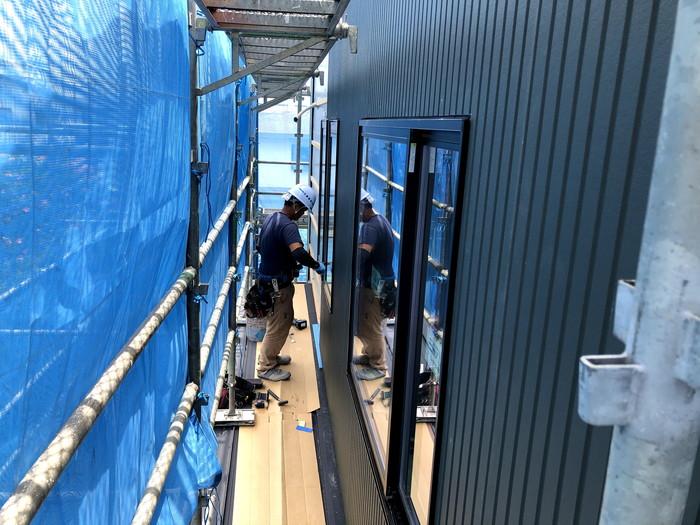 旭トステムのアーバンストライプを使用してます。郡山市安積町| 郡山市 新築住宅 大原工務店のブログ