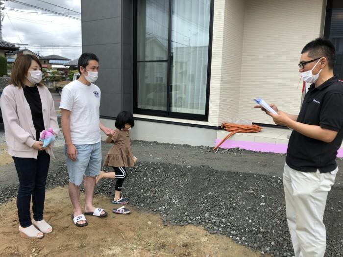 お引渡し式スタートです。| 郡山市 新築住宅 大原工務店のブログ
