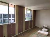 下地を塗ったところです。郡山市東原F様邸| 郡山市 新築住宅 大原工務店のブログ