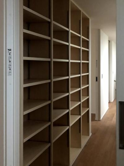 M様邸、大容量の本棚がステキです。  郡山市 新築住宅 大原工務店のブログ