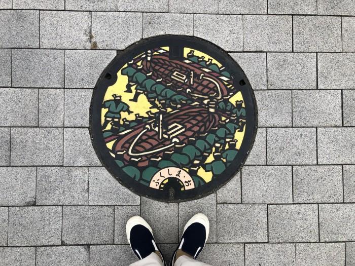 福島市のマンホールです。福島市| 郡山市 新築住宅 大原工務店のブログ