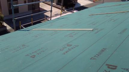 新築住宅 屋根防水紙