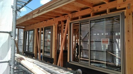 リクシルのサーモスエックスを使用してます。田村市船引町|郡山市 新築住宅 大原工務店のブログ